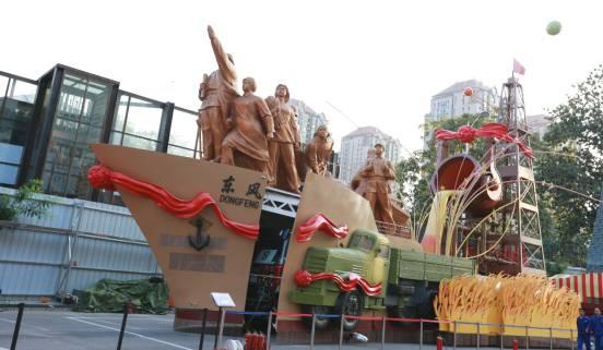 """以国典品质,为祖国喝彩 ――福田欧辉""""庆祝新中国成立70周年大会""""彩车项目全景纪实"""