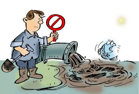 烟台环保夜查排污企业 检查鲁银药业却被拦下
